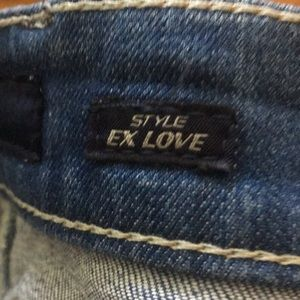 Miss sixty jeans.  Model Ex Love.  Size 29.